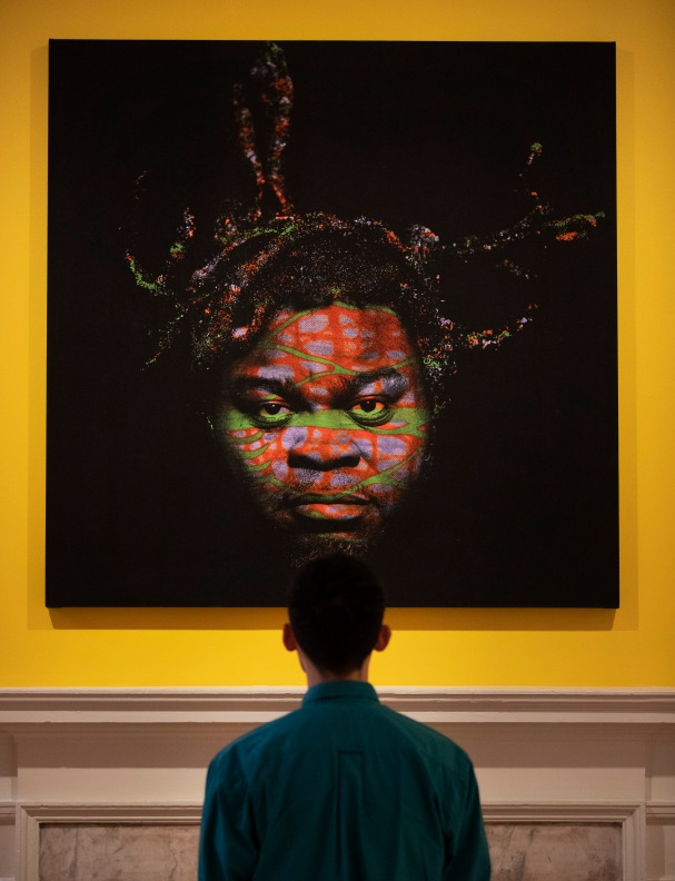 Yinka Shonibare's Self Portrait (after Warhol) as part of Get Up, Stand Up Now ©Peter Macdiarmid