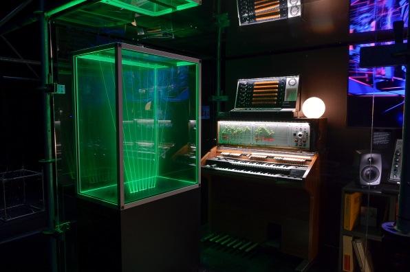 Jean Michel Jarre's virtual studio © Gil Lefauconnier