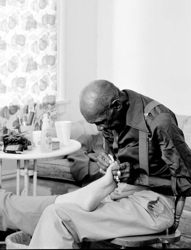 Mr Yerby and Mom's Foot © LaToya Ruby Frazier