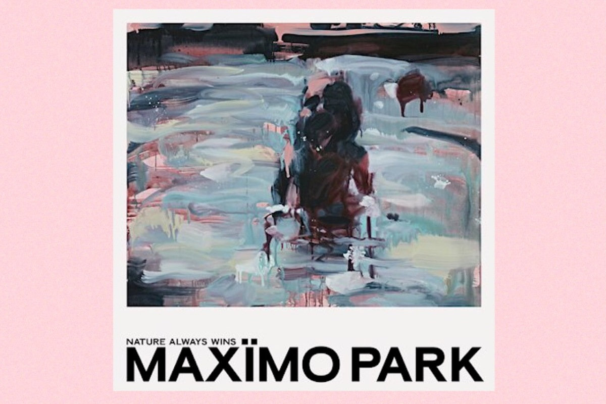 Cover sleeve for Maxïmo Park's album 'Nature Always Wins'